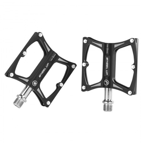 WHEEL UP LXK340 1 Pair Bike Pedals Anti-slip Aluminum Alloy MTB Bicycle Pedals Bicycle Accessories