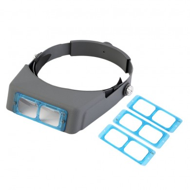MG81007-B 1.5X 2X 2.5x 3.5x Hands Free Magnifier Magnifying Glass for Operation Handicraft Jewelry