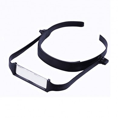 Headband Magnifier 1.6x/2x/ 2.5x/ 3.5x Adjustable ABS Plastic Lens Adjustable Reading Glasses Head Wearing Middle-aged Headband