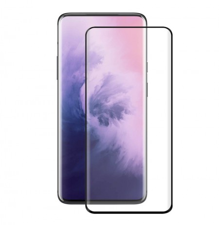 Enkay 3D Full Curved Edge Hot Bending Plating PET HD Soft Screen Protector For OnePlus 7 Pro / OnePlus 7T Pro