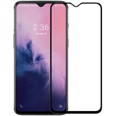 NILLKIN XD CP+MAX Full Coverage Anti-explosion Tempered Glass Screen Protector for OnePlus 7 / OnePlus 6T