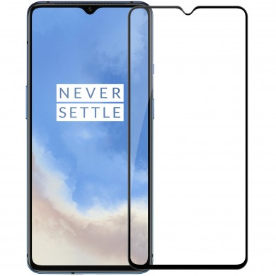 NILLKIN 3D CP+MAX Anti-explosion Full Coverage Tempered Glass Screen Protector for OnePlus 7T