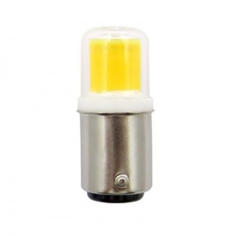 DC12V Dimmable BA15D 5W 450LM COB LED Ampoule pour lampe de voiture Table Night Light