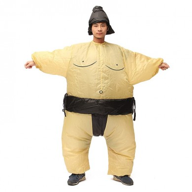 Sumo Inflatable Costume Carnival Party Fancy Animal Clothing Para Adultos Envío Gratis