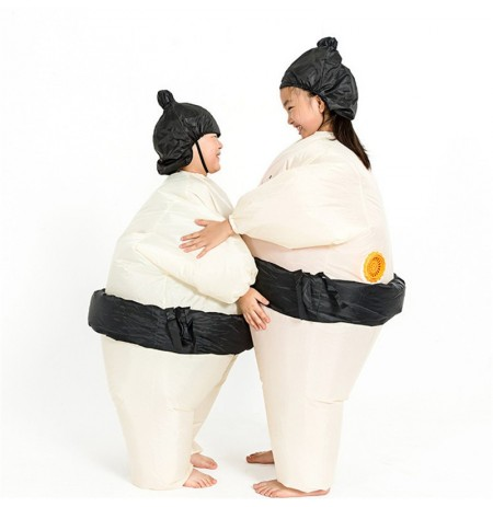 Sumo Gonfiabile Costume Carnival Partito Fancy Animal Clothing per i bambini