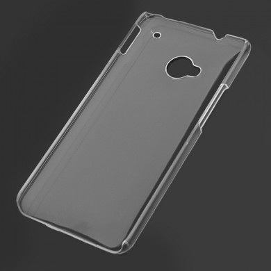 Transparent DIY Material Case For HTC One Smartphone