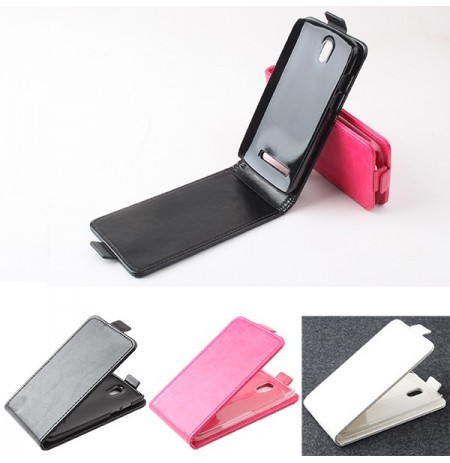 Flip-open PU Leather Protective Case For HTC 506E Desire 500 5088 509d