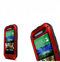 Aluminum Metal Waterproof Shockproof Dustproof Case For HTC E8