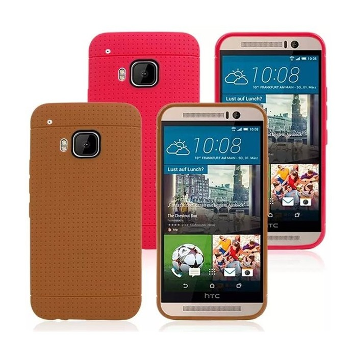 Honeycomb Pattern Soft TPU Protective Case Cover For HTC M9