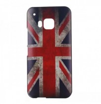 Retro Drawing Pattern PC Back Protective Case Cover For HTC One M9