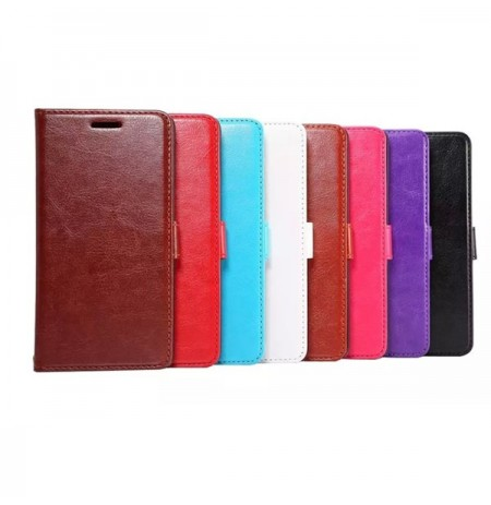 Flip Pu Leather Holder Card Wallet Stand Case For HTC One M9