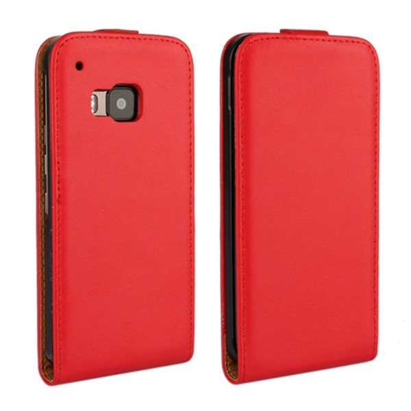 Ultra Thin Flip Up And Down Pu Leather Case Cover For HTC One M9