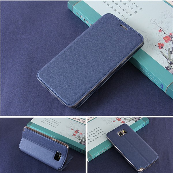 Matte Surface PU Leather Flip Kickstand Case Cover For HTC One X9