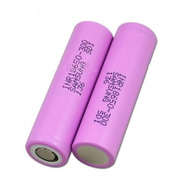 2PCS INR18650-30Q 3000mah 20A Power Li-ion Battery for Samsung