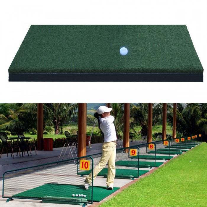 Nylon Golf Practice Mat Schlagen Grass Driving Holder Outdoor Indoor Training Hinterhof