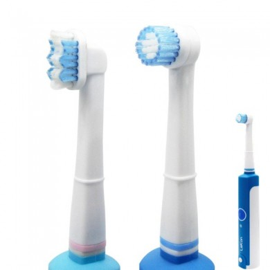 Inductive Charging Replacement Rotary Electric Toothbrush Head For LeKon