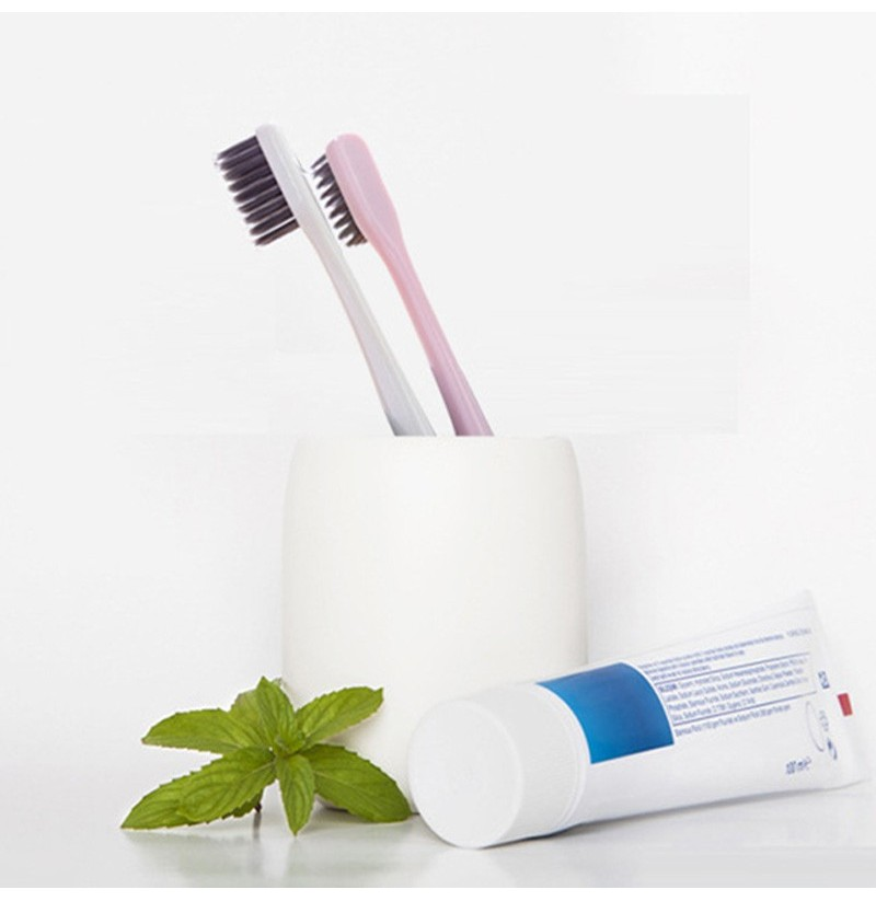 Honana TB-277 Ultra Soft Toothbrush Bamboo Charcoal Brush Care Oral Hygiene Choose Different Color (Color: white) фото