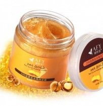 AFY 24K Gold Scrub Exfoliating Foot Cream Horny Dead Skin Remover Repair Moisture