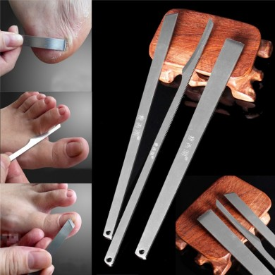 3Pcs Pedicure Callus Corn Hard Tough Skin Remover Shaver Pedicure Kit Foot Care