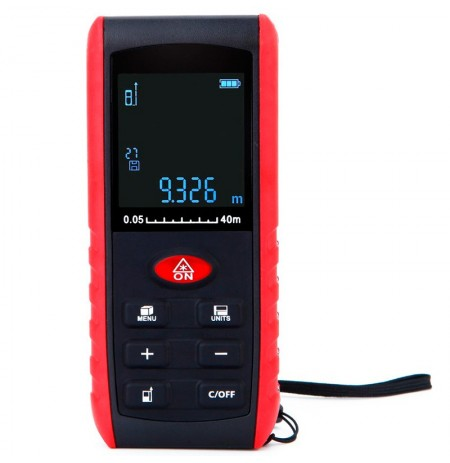 KXL-E40 40M High Precision Digital Handheld Laser Rangefinder Distance Meter