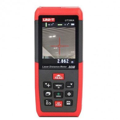 UNI-T UT396A Professional 80M Laser Distance Meter Rangefinder Angle Electronic Level