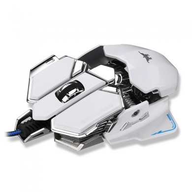 Combaterwing 4800DPI USB Wired Professional Gaming Mouse Programmable 10 Buttons RGB Breathing LED