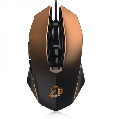 Dareu EM925 10800DPI Adjustable Pro Gaming Mouse Optical LED Mice Wired USB for Professional Gamer
