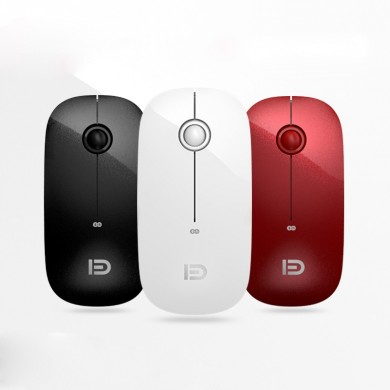 i368d 1600DPI Ultra Thin Mute Dual Mode Bluetooth 2.4G Wireless Optical Mouse for Office Work PC