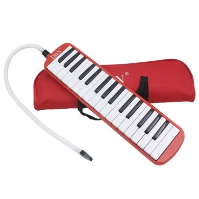 IRIN 32 Key Melodica Keyboard Mouth Organ with Pag for School Student