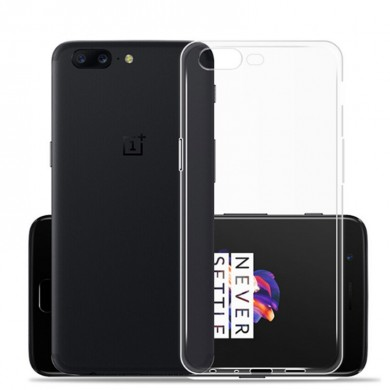 Ultra Thin Clear Soft Skin TPU Case For OnePlus 5