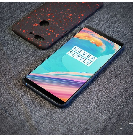 Bakeey Ultra-Thin Fashion Style Starry Sky Inkjet PC Protective Back Case For OnePlus 5T