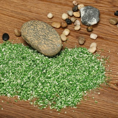 DIY Handmade Building Model Material Grass Tree Sponge Powder Green Mixture Pollen