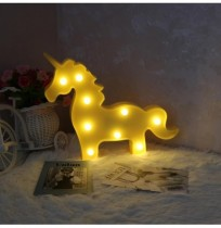 Vvcare BC-NL04 Led Night Light for Kids Unicorn Giraffe Bedroom Bedside Lamp Room Party Decorations