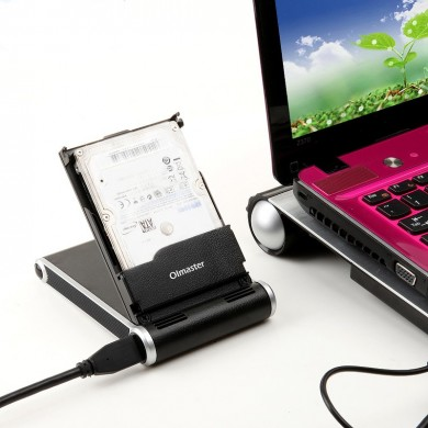 High Speed USB 3.0 External Hard Disk Enclosure Station for 2.5 Inch HDD SSD For Laptop Desktop