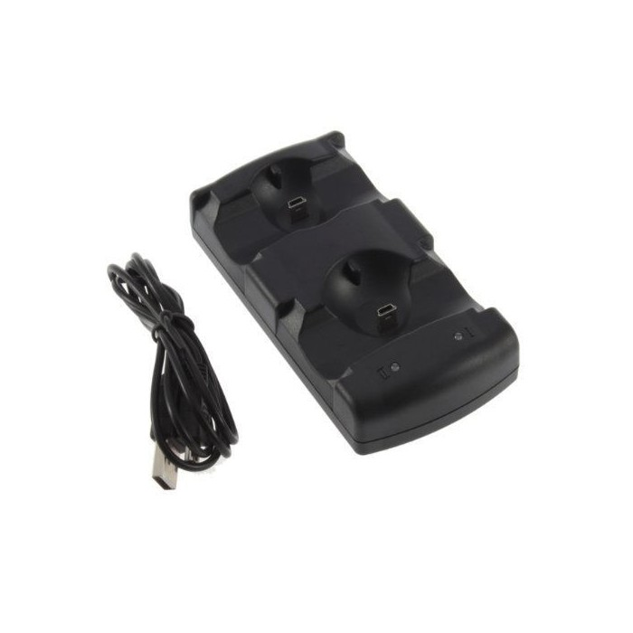USB Dual Charger Dock For Sony PS3 Wireless Controller PS3 Move