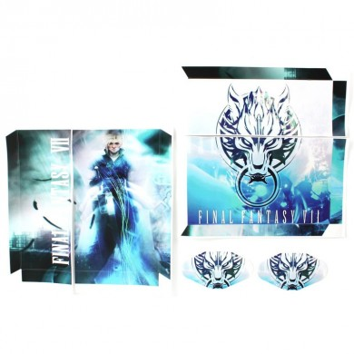 Fantasy Game Theme Sticker Decal Skin para Play Station 4 PS4 Console Controller Final Fantasty VII