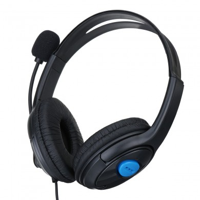 3.5mm Wired Gaming Headset Headphones with Microphone for PS4