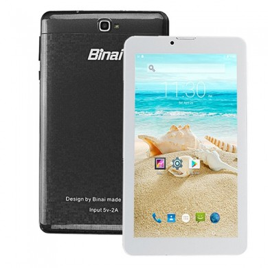Original Box Binai X7 3G 8GB MTK8321 Quad Core 7 Inch Android 6.0 Phone Tablet