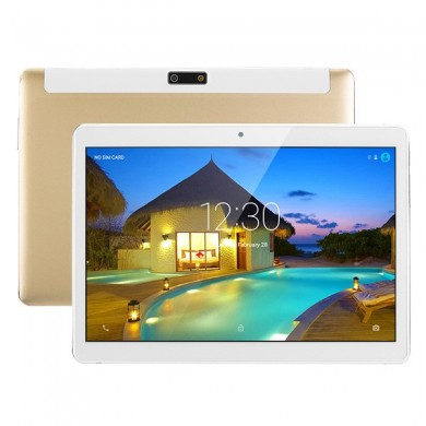 PC 16GB A7 Quad Core 9.6 pollici plastica Shell Android 6.0 dual 3G Tablet