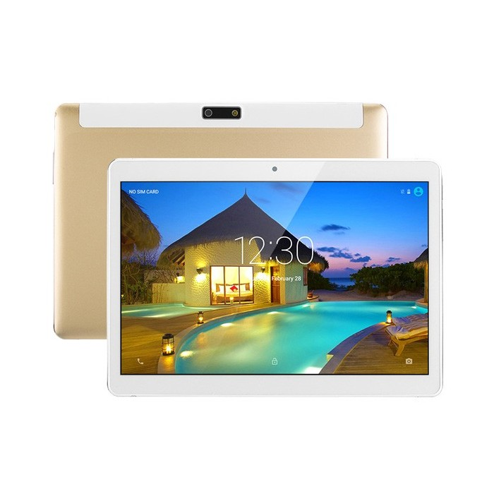 16GB A7 Quad Core 9,6 pulgadas de plástico Shell Android 6.0 Tablet PC Dual 3G