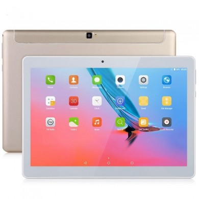 Binai Mini10 32GB MTK6753 Octa Core 10,1 polegadas Android 7.0 Dual 4G Phablet Tablet Gold