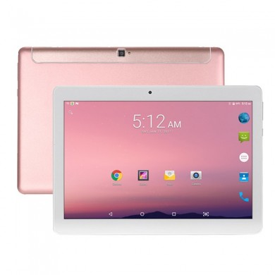 Originale Box VOYO Q101 MT6753 Octa Core 10,1 Zoll Android 7.0 Dual 4G Tablet PC Roségold