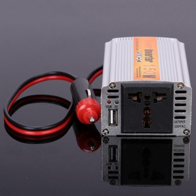 SGR-NX1512 150W Car Power Inverter Power Supply Adapater DC 12V to AC 220V for iPhone Xiaomi Labtop