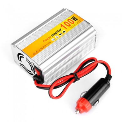 SGR-NX1012 Car Auto Power Inverter Converter Adapter 100W DC12V to AC220V Output