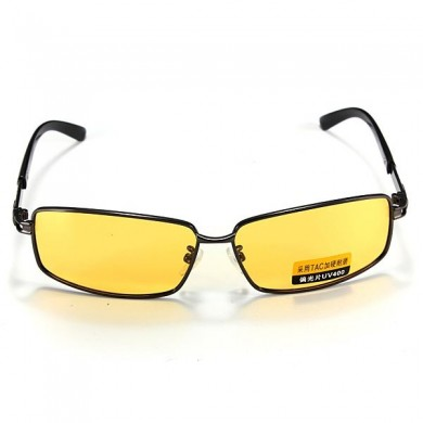 Polarized UV400 Sun Glassess Night Vision Driving Eyewear Shade Glasses