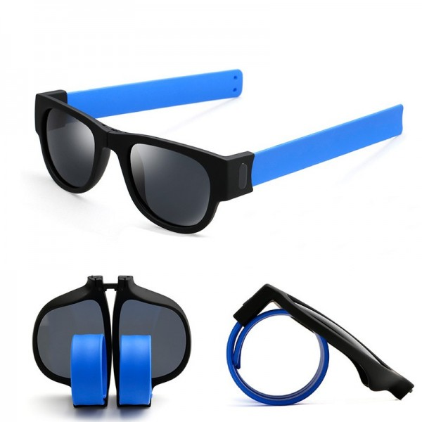 Unisex UV400 Polarized Folding Bracelet Glasses Creative Sunglasses Fashion Funny Eyewear