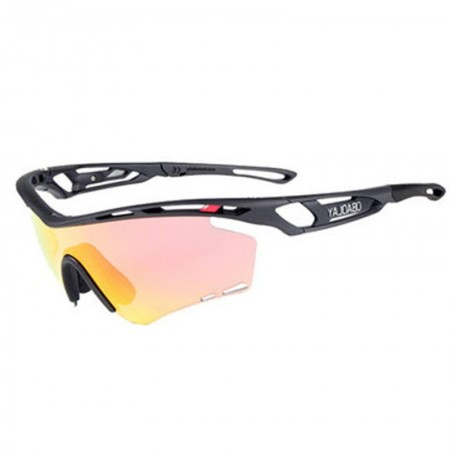 OBAOLAY TR90 Frame Polarized Lens Glasses Outdoor Windproof UV Protection Bike Cycling Goggles