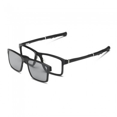 Sports Retractable Two-in-One Óculos Day and Night Polarized Magne Basketball Sun Conjunto de Óculoss