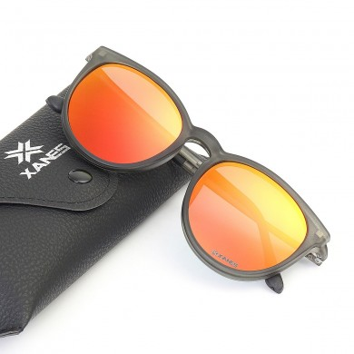 XANES Uomo Donna Clip Polarizzata Magnetica Su Vetro Glassess TR90 Ultralight Sun Driving Glasses con custodia