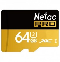 Netac Pro P500 64GB TF Card UHS-I U3 TF SDXC Storage Memory Card For Mobile Phone